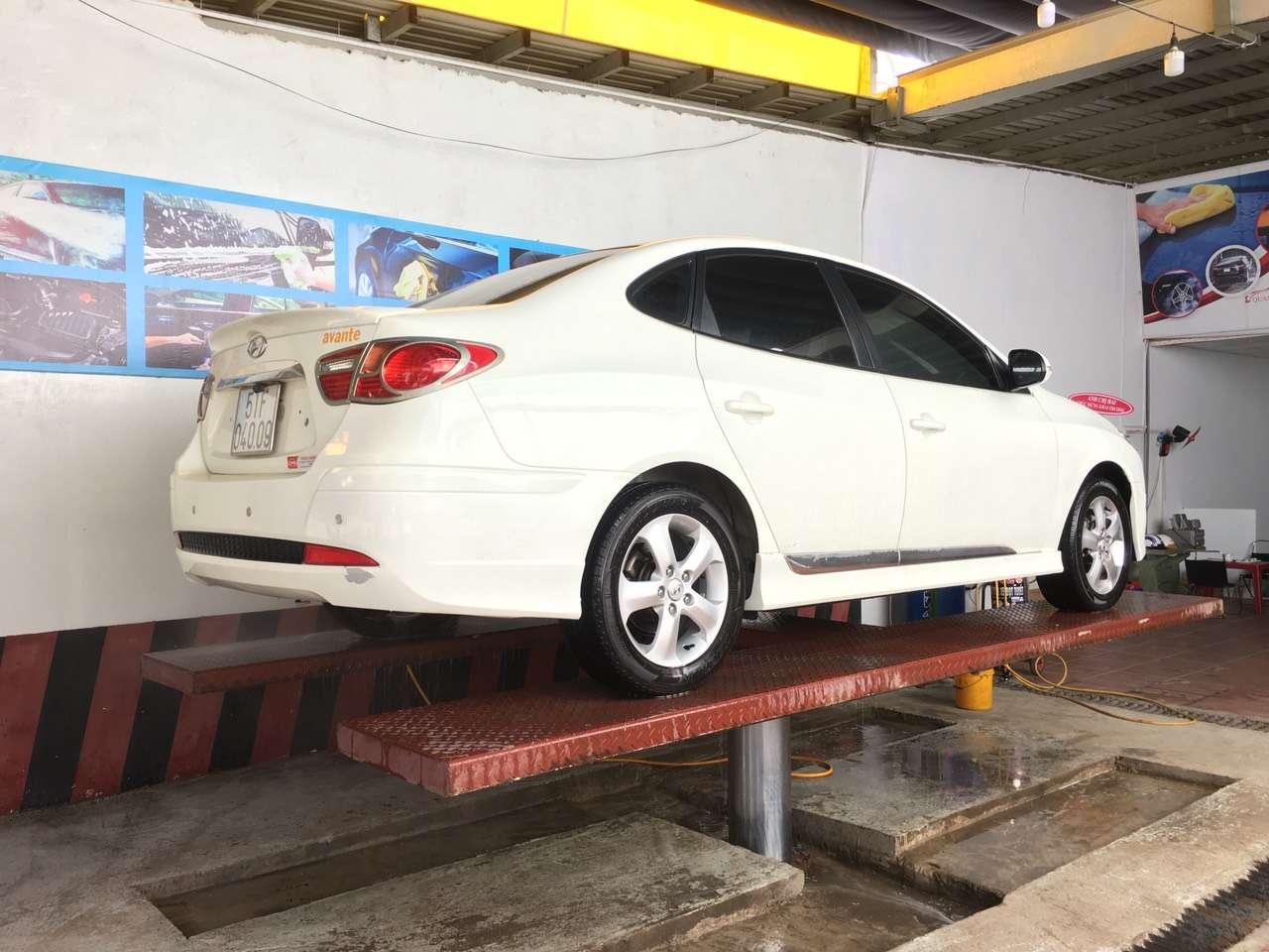 giá rửa xe ô tô